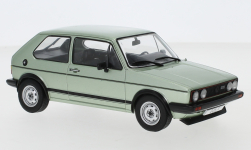 voiture miniature - <strong>VW</strong> Golf I GTI, metallic-la chaux, 1983<br /><br />WhiteBox, 1:24<br />N° 247158