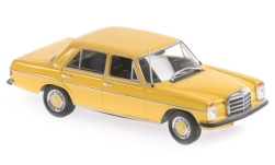 Modelcar - <strong>Mercedes</strong> 200, yellow, 1968<br /><br />Maxichamps, 1:43<br />No. 247185
