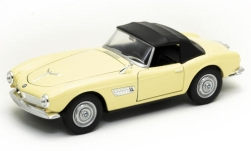 voiture miniature - <strong>BMW</strong> 507, beige clair, Verdeck fermé<br /><br />Welly, 1:24<br />N° 247188