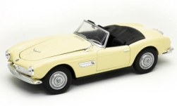 voiture miniature - <strong>BMW</strong> 507, beige clair, Verdeck ouvert<br /><br />Welly, 1:24<br />N° 247190