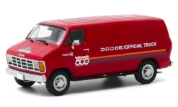 Modellino - <strong>Dodge</strong> RAM B 150, rosso/decor, Indianpolis 500, 71st Annual 500 Mile gara Official camion, 1987<br /><br />Greenlight, 1:43<br />n. 247225