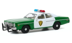 Modellauto - <strong>Plymouth</strong> Fury, Chickasaw County Sheriff, 1975<br /><br />Greenlight, 1:43<br />Nr. 247228