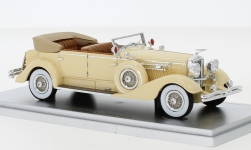 Modelcar - <strong>Duesenberg</strong> Model J Convertible Berline by Murphy, beige, canopy open, 1929<br /><br />Kess, 1:43<br />No. 247239