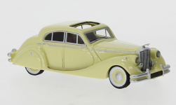 voiture miniature - <strong>Jaguar</strong> Mark V, beige clair, 1950<br /><br />BoS-Models, 1:87<br />N° 247349