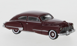 ModelCar - <strong>Cadillac</strong> Series 62 Club Coupe, metallic-dunkelrot, 1946<br /><br />BoS-Models, 1:87<br />Nr. 247353