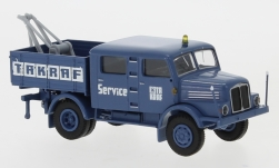 Modelcar - <strong>IFA</strong> S 4000-1 towing automobile, TAKRAF, towing automobile, 1960<br /><br />Brekina, 1:87<br />No. 247394