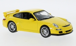 Modellauto - <strong>Porsche</strong> 911 GT3 (997), geel<br /><br />Lucky Die Cast, 1:43<br />Nr. 247442