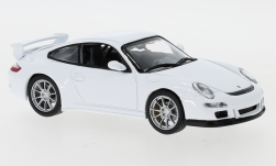 voiture miniature - <strong>Porsche</strong> 911 GT3 (997), blanche<br /><br />Lucky Die Cast, 1:43<br />N° 247443