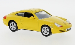 Modellauto - <strong>Porsche</strong> 911 Carrera (996), geel, 1998<br /><br />Lucky Die Cast, 1:43<br />Nr. 247459