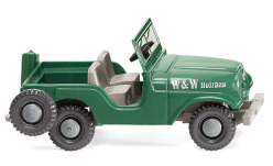 Modellauto - <strong>Willys</strong> Jeep, W&W Holzbau, 1952<br /><br />Wiking, 1:87<br />Nr. 247512