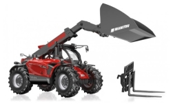 Modellauto - <strong>Manitou</strong> Teleskoplader MLT 635, rot<br /><br />Wiking, 1:32<br />Nr. 247527
