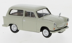 Modelcar - <strong>Trabant</strong> P 50 station wagon, grey, 1960<br /><br />Brekina, 1:87<br />No. 247637