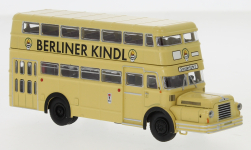 Modellauto - <strong>IFA</strong> Do 56 Bus, BVG - Berliner Kindl, 1960<br /><br />Brekina, 1:87<br />Nr. 247643