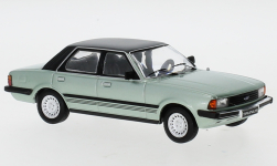 Modelcar - <strong>Ford</strong> Taunus (TC3) Ghia, metallic-light green/black, 1983<br /><br />IXO, 1:43<br />No. 247646