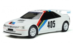 Modellauto - <strong>Peugeot</strong> 405 T16 Gr.5, weiss/Dekor, No.405, Peugeot Talbot Sport, 1988<br /><br />Ottomobile, 1:18<br />Nr. 247658