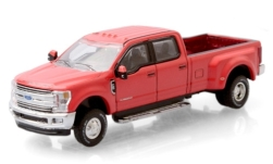 Modelo de coche - <strong>Ford</strong> F-350 Lariat, rojo, 2019<br /><br />Greenlight, 1:64<br />Nº 247709