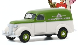 Modelo de coche - <strong>Chevrolet</strong> Panel Truck, Saturday tarde Catering, 1939<br /><br />Greenlight, 1:64<br />Nº 247711