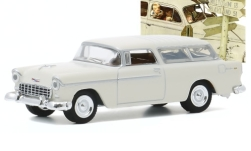 ModelCar - <strong>Chevrolet</strong> Nomad, weiss, 1955<br /><br />Greenlight, 1:64<br />番号 247712