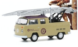 ModelCar - <strong>VW</strong> T2 Double Cab Ladder Truck, Ringwell Telephone Company, 1972<br /><br />Greenlight, 1:64<br />番号 247716