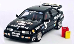 Modellauto - <strong>Ford</strong> Sierra RS Cosworth, No.2, Daily Mail, Audi Sport Rally, mit Zubehör, M.Lovell/J.Williams, 1987<br /><br />Trofeu, 1:43<br />Nr. 247733