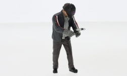 Modelcar - <strong>Figur</strong> Mr. Welder<br /><br />American Diorama, 1:24<br />No. 247739