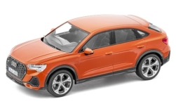 Modelcar - <strong>Audi</strong> Q3 Sportback  (F3), metallic-dunkelorange, 2020<br /><br />I-iScale, 1:43<br />No. 247813