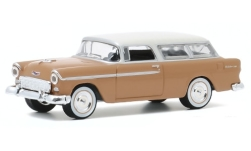 Modelcar - <strong>Chevrolet</strong> Two-Ten Handyman, brown/beige, 1955<br /><br />Greenlight, 1:64<br />No. 247818