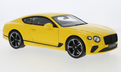 Modellauto - <strong>Bentley</strong> Continental GT, gelb, 2018<br /><br />Norev, 1:18<br />Nr. 247970