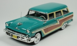 Modellauto - <strong>Mercury</strong> Monterey Station Wagon, grün/Holzoptik, 1956<br /><br />Goldvarg Collections, 1:43<br />Nr. 248280