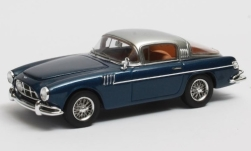 ModelCar - <strong>Aston Martin</strong> DB2/4 Vignale, metallic-dunkelblau/silber, Chassis LML/802: King Baudoin of Belgium, 1954<br /><br />Matrix, 1:43<br />番号 248333