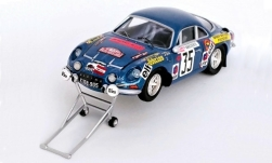 Modellauto - <strong>Alpine Renault</strong> A110, No.35, Rallye WM, Rallye Monte Carlo, mit Wagenheber, K.Russling/W.Weiss, 1973<br /><br />Trofeu, 1:43<br />Nr. 248424