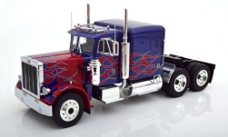 Modellauto - <strong>Peterbilt</strong> 359, metallic-blau/rot, 1967<br /><br />Road Kings, 1:18<br />Nr. 248512