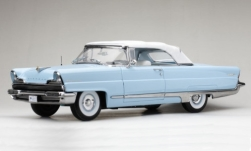 Modellauto - <strong>Lincoln</strong> Premiere Convertible, hellblau/weiss, 1956<br /><br />Sun Star, 1:18<br />Nr. 248534