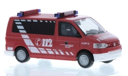 Modellauto - <strong>VW</strong> T5 Bus, Feuerwehr Heilbronn<br /><br />Rietze, 1:87<br />Nr. 248662