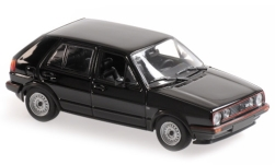 Modelcar - <strong>VW</strong> Golf II GTI, black, 5-doors, 1985<br /><br />Maxichamps, 1:43<br />No. 248814