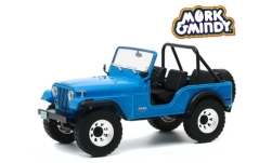 автомодель - <strong>Jeep</strong> CJ-5, Mork & Mindy (1978-82 TV Series), 1972<br /><br />Greenlight, 1:18<br />№ 249145