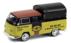 автомодель - <strong>VW</strong> T2 Double Cab Pickup, Pennzoil, T2 DoKa-Pritsche, 1968<br /><br />Greenlight, 1:64<br />№ 249156