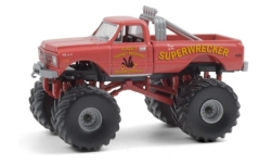 автомодель - <strong>Chevrolet</strong> K-10 Monster Truck, Superwrecker, 1968<br /><br />Greenlight, 1:64<br />№ 249165