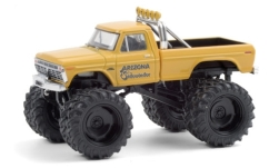автомодель - <strong>Ford</strong> F-250 Monster Truck, Arizona Sidewinder, 1975<br /><br />Greenlight, 1:64<br />№ 249166