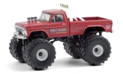автомодель - <strong>Ford</strong> F-250 Monster Truck, First Blood, 1978<br /><br />Greenlight, 1:64<br />№ 249167