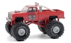 автомодель - <strong>Chevrolet</strong> Silverado Monster Truck, Samson I, 1984<br /><br />Greenlight, 1:64<br />№ 249169