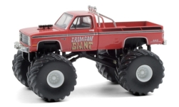 автомодель - <strong>Chevrolet</strong> Silverado Monster Truck, Crimson Giant, 1987<br /><br />Greenlight, 1:64<br />№ 249170