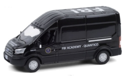 автомодель - <strong>Ford</strong> Transit LWB High Roof, FBI Academy - Quantico, 2015<br /><br />Greenlight, 1:64<br />№ 249172