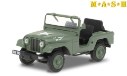 Modellauto - <strong>Willys</strong> M38 A1, oliv/Dekor, M*A*S*H (1972-83 TV-Series), 1952<br /><br />Greenlight, 1:43<br />Nr. 249183