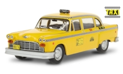 автомодель - <strong>Checker</strong> A11 Marathon Taxi Cab, gelb/Dekor, Sunshine Cab Company, Taxi (1978-83 TV-Series), 1974<br /><br />Greenlight, 1:43<br />№ 249184