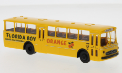 Modellauto - <strong>Mercedes</strong> O 317 K, DBP - Florida Boy Orange, 1970<br /><br />Brekina, 1:87<br />Nr. 249188