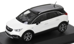 Modelcar - <strong>Opel</strong> Crossland X, metallic-white/black<br /><br />I-iScale, 1:43<br />No. 249205