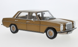 Modellauto - <strong>Mercedes</strong> 200/8 (W115), metallic-hellbraun, 1968<br /><br />I-Norev, 1:18<br />Nr. 249225