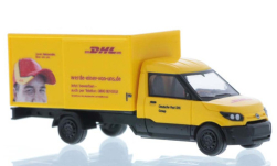 Modellauto - <strong>Streetscooter</strong> Work L, DHL<br /><br />Rietze, 1:87<br />Nr. 249231