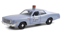 Modellauto - <strong>Plymouth</strong> Fury, Detroit Police, Beverly Hills Cop (1984), 1977<br /><br />Greenlight, 1:24<br />Nr. 249382